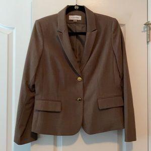 Calvin Klein brown pant suit 2 pcs
